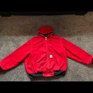 Carhartt Work Jacket Men's XL Red